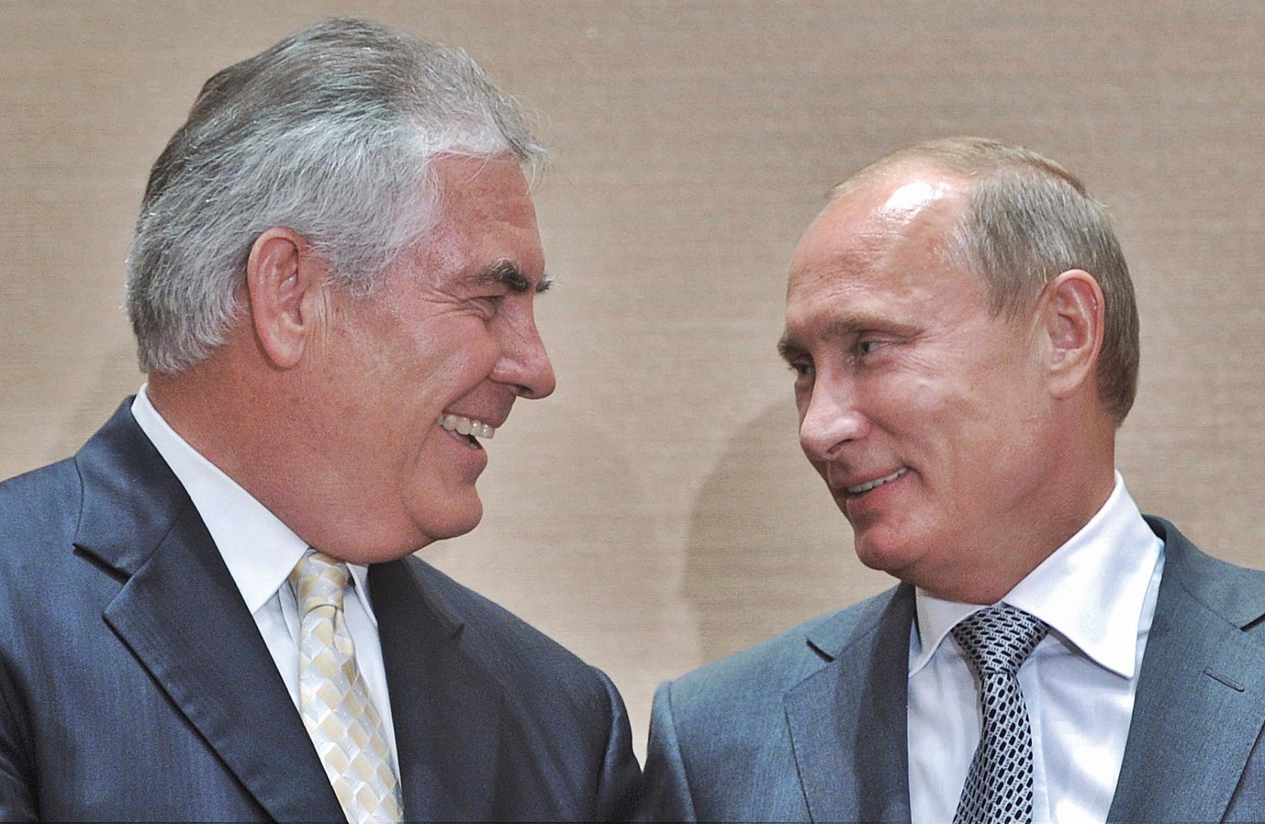 Il filo rosso tra Tillerson e Skripal