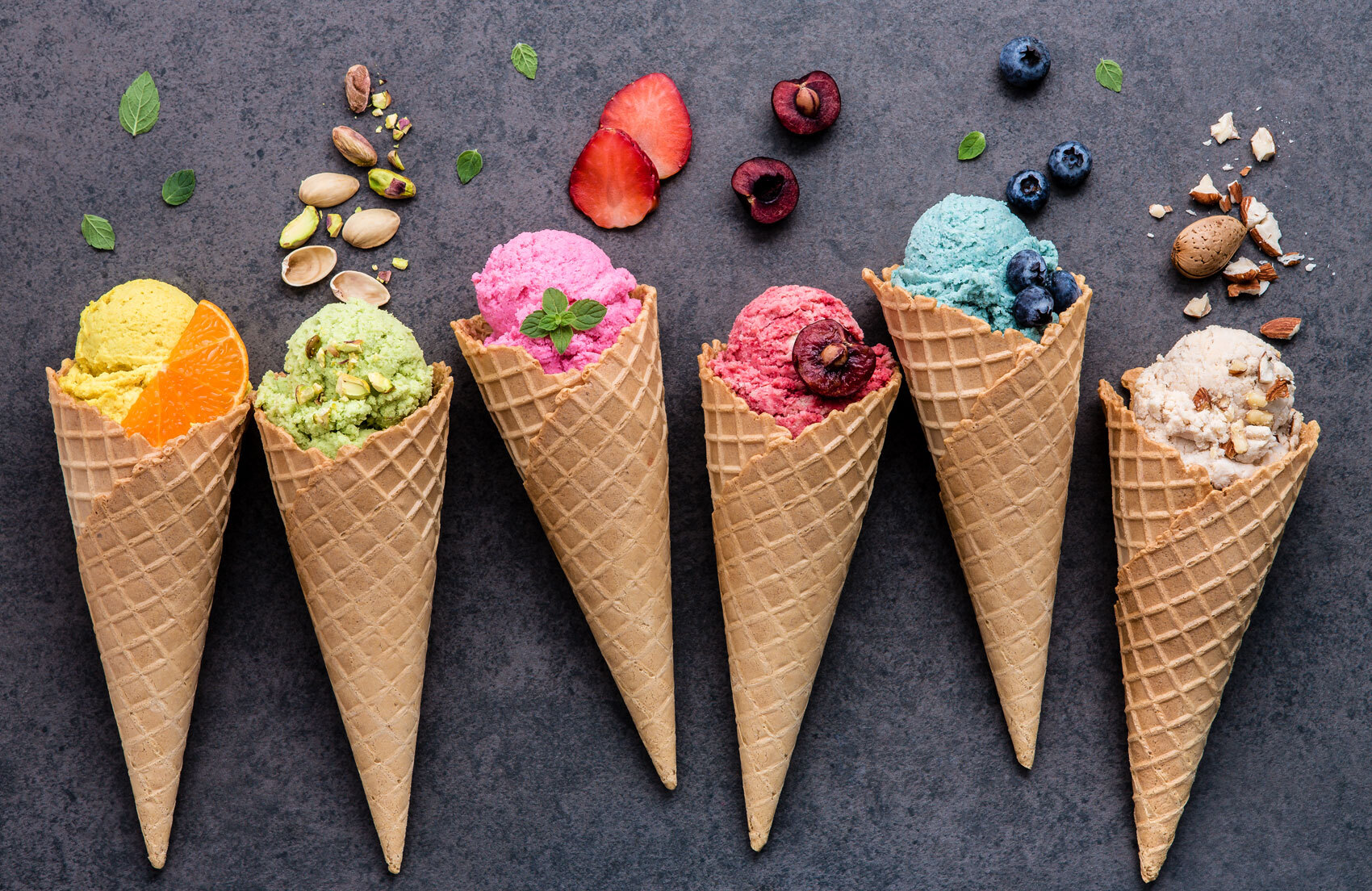 ICE CREAM, A VERY OLD AND TASTY SNACK