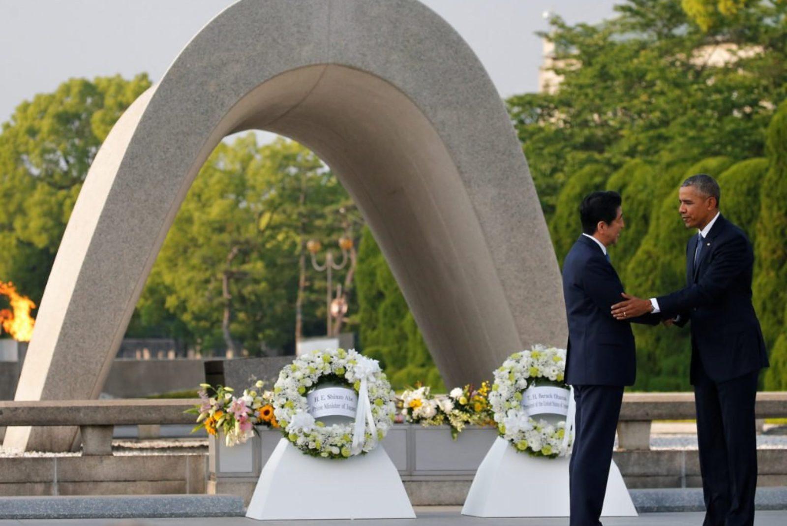 Shinzo Abe, Pearl Harbor 75 anni dopo