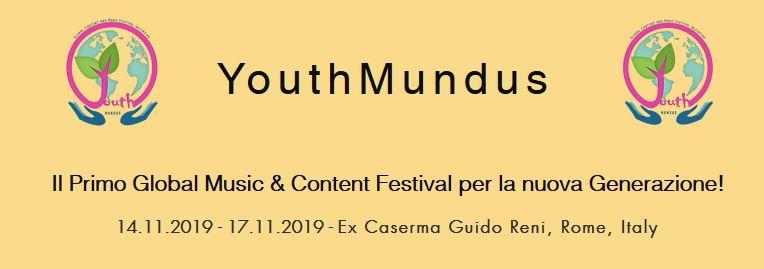 Youth Mundus, 14-17 Novembre 2019